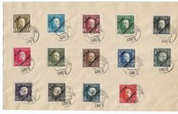 Bosnia And Herzegovina 1916 Large Cover W/14 Stamps, VF Cancellations !! - Bosnia And Herzegovina