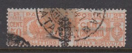 Italy PP 28 1927-32 King Victor Emanuel ,parcel Post, 50c Orange,Used - 1878-00 Humbert I.