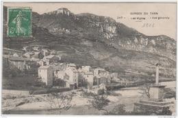 GORGES DU TARN LES VIGNES VUE GENERALE 1906 TBE - Gorges Du Tarn