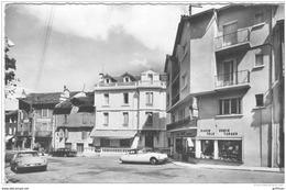 VILLEFORT PLACE DU PORTALET CPSM 9X14 1968 TBE - Villefort