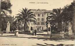 HYERES  LE PAK HOTEL  Animée RV - Hyeres