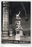 FIRENZE:  LOGGIA  DELLA  SIGNORIA  -  IL  RATTO  DELLE  SABINE  -  FOTO   -  FG - Musei