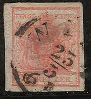 Autriche 1850 N°Y.T. :  3 Obl. - 1850-1918 Empire