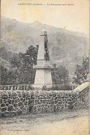Lasouche (La Souche, Ardèche) - Le Monument Aux Morts - Photo Brunel - France