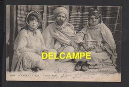 DD / ALGÉRIE ? / SCÈNES ET TYPES / FAMILLE ARABE / 1918 - Scènes & Types