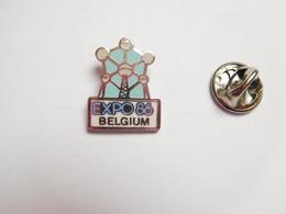 Beau Pin's En EGF , Expo 86 , Belgium , Atomium , Bruxelles - Villes