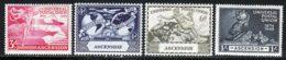 Ascension 1949 Yvert 58 / 61 * TB Charniere(s) - Ascension (Ile De L')