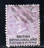 Bechuanaland 1887 Yvert 15 (o) B Oblitere(s) - Bechuanaland (...-1966)