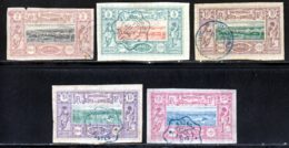 Cote Des Somalis 1894 Yvert 7 - 9 / 12 (o) B Oblitere(s) - Côte Française Des Somalis (1894-1967)