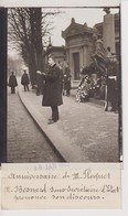 M BESNARD  SECRÉTAIRE D'ETAT ANNIVERSAIRE DE M FLOQUET  13*9CM Maurice-Louis BRANGER PARÍS (1874-1950) - Personalidades Famosas
