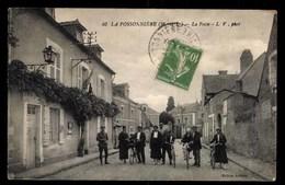 FRANCE, La Possonniere, La Poste, Animé (49) - France