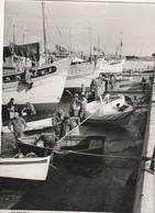 Rare Cpsm Le Croisic Carénage Bateaux De Pêche  Très Animée 1964 - Le Croisic