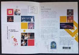 Lebanon 2019 Commemorative Folder 35th Anniv Beiteddine Art Festival Cancelled 1st Day Of Issue @ Beiteddine Post Office - Lebanon