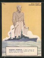 CPA Illustrateur Paul Igert: Aviso-colonial Dumont D`Urville, Französ. Kriegsschiff - Guerre