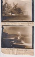 LOT 2 FOTO  1911 VERDIER COUR D'ASSISES VERSAILLES CHRÉTIEN DÉFENDEUR 21*13CM Maurice-Louis BRANGER PARÍS (1874-1950) - Personalidades Famosas