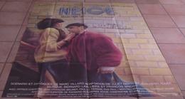 AFFICHE CINEMA ORIGINALE FILM NEIGE Juliet BERTO STEVENIN ROGER TBE 1981 PEELLAERT Bernard LAVILLIERS - Affiches & Posters