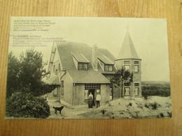 Knokke Zoute Chez Oscar 1908 Met Nog Duitse Vermelding Zeldzaam - Knokke