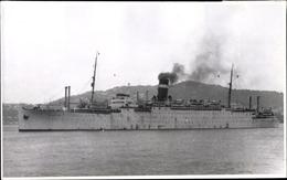 Photo Cp Steamer Captain Cook, Dampfschiff, Ex Empire Brent, Letitia, Auswandererschiff - Ships