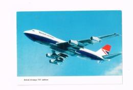 British Airways 747 Jetliner. - 1946-....: Modern Era