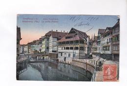 CPA DPT 67 STRASBOURG, LA PETITE FRANCE  En 1919! (voir Timbres Taxe) - Strasbourg