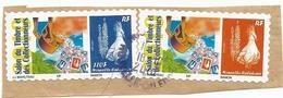 TIMBRES PERSONNALISES  MOANA SERVICES    (pag8 G) - Gebraucht
