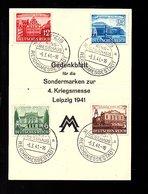 Ringmesshaus Leipzig (811) - Briefe U. Dokumente