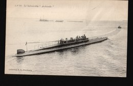 LOT048.....5 CPA CHERBOURG ...SOUS MARINS - 5 - 99 Cartes