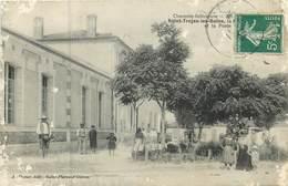 17  Charentes Maritime :  Saint Trojan Les Bains La Mairie Et La Poste    Réf 6941 - Sonstige Gemeinden