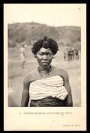 Tchad, Femme Mandjia, Coiffure De Fête, ETHNIQUE - Tchad
