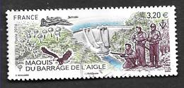 FRANCE 2019 Maquis Du Barrage De L'aigle. - Oblitérés