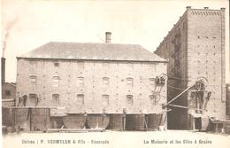 167) BAESRODE - Usines P. Vermeylen & Fils -La Maïserie Et Les Silos à Grains - Goede Staat ! - Dendermonde