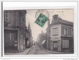 St-MARTIN-D'AUXIGNY : Rue De L'eglise - Tres Bon Etat - Frankreich