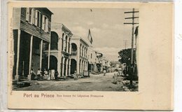 HAITI PORT AU PRINCE - Postcards
