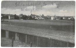 CPA SARREBOURG - Schlacht D. Saarburg I. L., 18-20 Aug. 1914 - Teil Des Schlachtfeldes M. Zerschoss. Art.-Kaserne - Sarrebourg