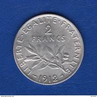 2 Fr  1912 - I. 2 Francs
