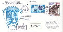 T.A.A.F. - Lettre Recom De 1978 - Oblit Kerguelen - Espace - Otari - Avec Signature - Valeur 34,50 € +++ - Tierras Australes Y Antárticas Francesas (TAAF)