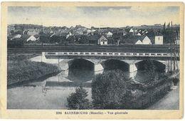 CPA SARREBOURG - Vue Générale - Ed. Knecht , Sarrebourg N°2380 - Sarrebourg