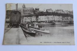 Granville Sous Marins Dans Le Port  1929 Ton Sipia - Granville