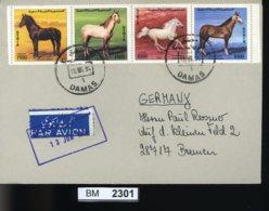 BM2301, Syrien, O, 1898-1901, ZD Auf Gelaufenem Brief - Syrien