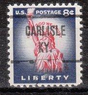 USA Precancel Vorausentwertung Preo, Locals Kentucky, Carlisle 721 - Vereinigte Staaten