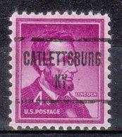 USA Precancel Vorausentwertung Preo, Locals Kentucky, Catlettsburg 723 - Vereinigte Staaten