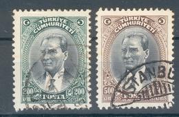 Türkei Mi.-Nr.911/12 O (MICHEL EURO 35,00) Feinst - Usati