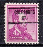 USA Precancel Vorausentwertung Preo, Locals Kentucky, Colesburg 734 - Vereinigte Staaten