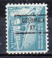USA Precancel Vorausentwertung Preo, Locals Kentucky, Columbia 734 - Vereinigte Staaten