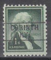USA Precancel Vorausentwertung Preo, Locals Kentucky, Corinth 745 - Vereinigte Staaten