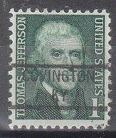 USA Precancel Vorausentwertung Preo, Locals Kentucky, Covington 841 - Vereinigte Staaten