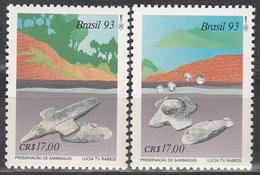 BRAZIL    SCOTT NO. 2419-20     MNH    YEAR  1993 - Brasilien