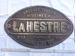 Plaque Identification Locomotive - Chemin De Fer