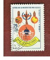 MADAGASCAR -  SG 435  -   1981  DISABLED INT. YEAR -  USED° - Madagascar (1960-...)