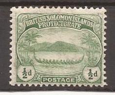 Iles SALOMON - N° 8 NEUF X MVLH - Solomon Islands (1978-...)